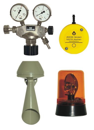 Accessories gas warning systems